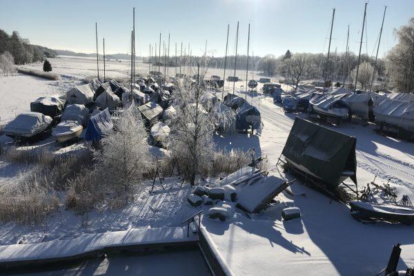 hamnen vinter